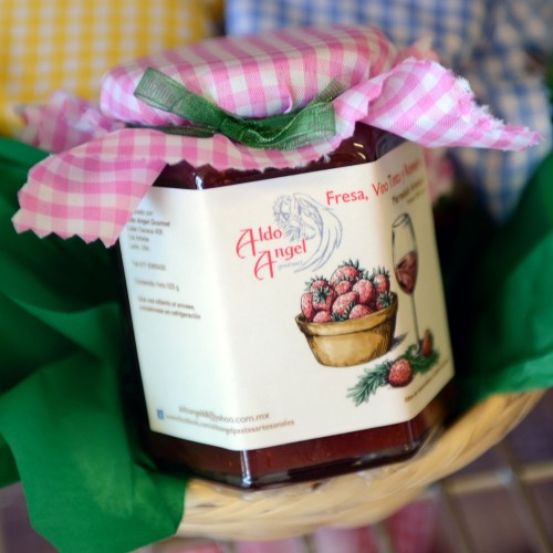 Mermelada de Fresa, Vino...